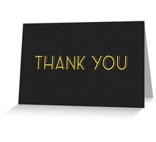 thank you cards Greeting Card