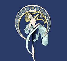 Sailor Moon Mucha iphone by EdWoody