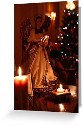 Christmas Angel 2 by Chris Kiez