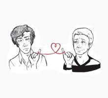 John and Sherlock - Red String of Fate by tobiejade