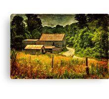 I Remember It Was In The Summer Canvas Print