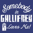Somebody in Gallifrey Loves Me by odysseyroc