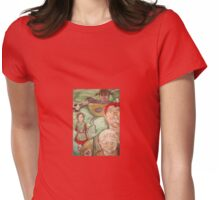 lucy's tea cup Womens Fitted T-Shirt