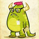 Monster Nerd by TheDrawbridge