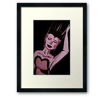 The Ballerina Queen  Framed Print