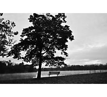 See the world in Black and White Photographic Print