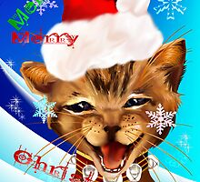 Christmas Ginger Kitty by Lotacats
