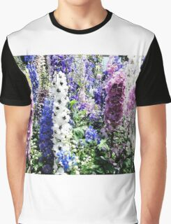 Larkspur (Delphiuium) Graphic T-Shirt