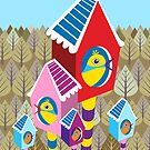 Forest Birds by Margaret Krajnc