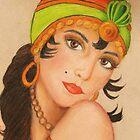 gypsy by artbycarol