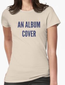 Anal Bum Cover Womens Fitted T-Shirt