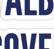 Anal Bum Cover Sticker