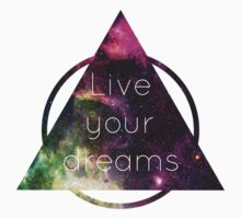 Live Your Dreams One Piece - Short Sleeve