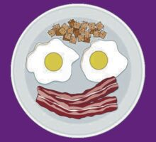 Bacon And Eggs Face by Alsvisions