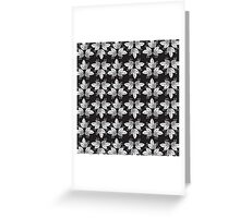 pattern leaves Greeting Card
