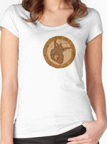 Rusted Heart Women's Fitted Scoop T-Shirt