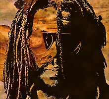 PETER TOSH-STAINED CLASS by OTIS PORRITT