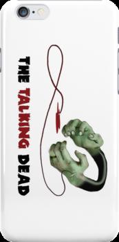 The Talking Dead - iPhone Case #2 by TheTalkingDead
