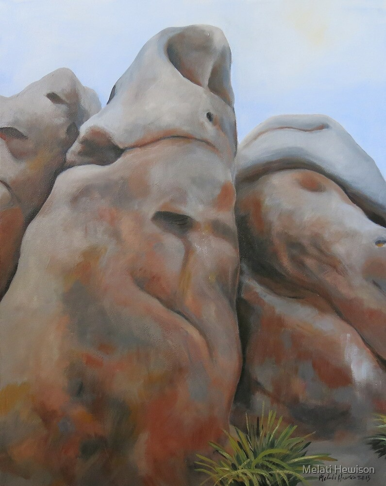 Hanging Rock III by Melati Hewison