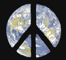 World Peace Symbol Baby Tee