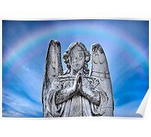 The Fallen Angel (Preston Cemetery) Poster