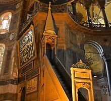 The Mimber, Hagia Sophia by Barbara  Brown