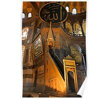 The Mimber, Hagia Sophia Poster