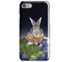 Earth Day Bunny Rabbit iPhone Case/Skin