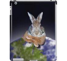 Earth Day Bunny Rabbit iPad Case/Skin