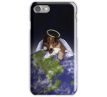 Earth Day Angel Sheltie iPhone Case/Skin