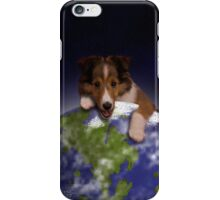 Earth Day Sheltie iPhone Case/Skin