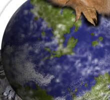 Celebrate Earth Day Everyday Squirrel Sticker