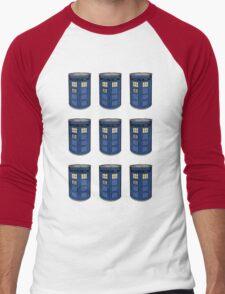 Tardis Soup Men's Baseball ¾ T-Shirt