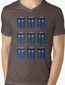 Tardis Soup Mens V-Neck T-Shirt