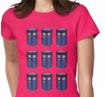 Tardis Soup Womens Fitted T-Shirt