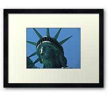 New York - Liberty Framed Print