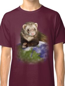 Earth Day Ferret Classic T-Shirt
