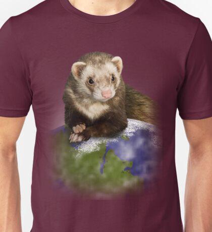 Earth Day Ferret Unisex T-Shirt