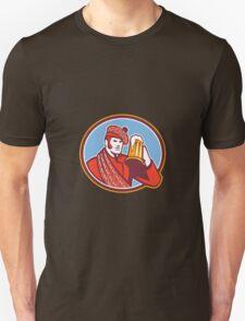 Scotsman Beer Drinker Mug Retro Unisex T-Shirt