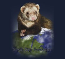 Earth Day Everyday Ferret Kids Clothes