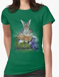 Celebrate Earth Day Bunny T-Shirt
