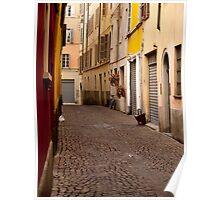 Parma Alleyway Poster