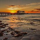 sun rise at queenscliff by ketut suwitra