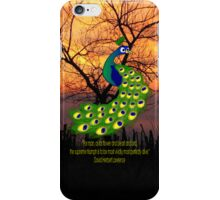 The Peacock iPad/iPhone/iPod case iPhone Case/Skin