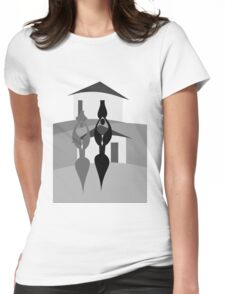 JOURNEY TO THE RIVER Womens Fitted T-Shirt