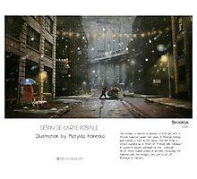 """Brooklyn"" in words & image (M.Konecka) Photographic Print"
