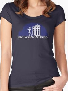 THE WHOALKING DEAD Women's Fitted Scoop T-Shirt