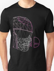 Pink Alt. Cap. Falcon by Clash Threads Unisex T-Shirt