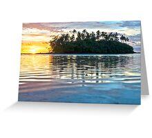 Sunrise Over Taakoka Greeting Card