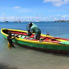 Grenada Fishing Boat by John Dalkin